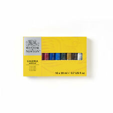 Winsor & Newton Galeria Acrylic Paint Starter Gift Set 10 X 20ml Colours
