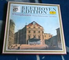 BEETHOVEN EDITION 9 SYMPHONIEN KARAJAN GERMAN BOX 8LP DG 2721 154