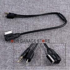 3.5mm Musik Adapter Kabel AMI MP3 AUX Schnittstelle Für Audi VW iPod iPhone 5 6S