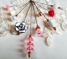 More details for *discolouration* 10pcs assorted length hat pin set