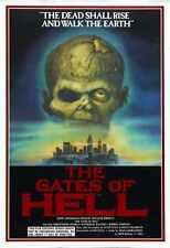 City Of The Living Dead Poster 01 Metal Sign A4 12x8 Aluminium