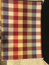 Longaberger Everyday Plaid Placemats -New