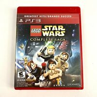 Lego Star Wars the Complete Saga GH (Sony Playstation 3 PS3) - Complete & Mint
