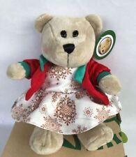 Starbucks Thailand Bearista Teddy Bear Doll Girl 2017 Christmas Limited Edition