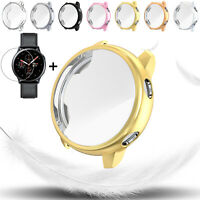 For Samsung Galaxy Watch Active 2 40 44 mm Smart Watch Screen Protector TPU Case