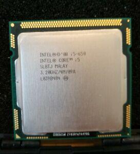 Intel Core i5-650 @3.2Ghz Socket LGA1156 (SLBTJ)
