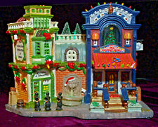 Lemax Holiday Treasure Christmas Shops Lighted House Buildings 55254