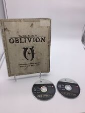 The Elder Scrolls IV Oblivion Game Of The Year Xbox 360 2006 & Official Guide