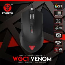 FANTECH WGC1 2.4G Wireless Mouse Charging Mute Gaming Computer Mouse Eergo T8M3