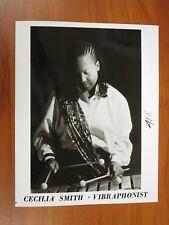 Vintage Glossy Press Photo Vibraphonist Cecilia Smith, Dark Triumph, Carmen #2