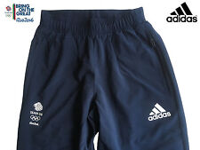 ADIDAS TEAM GB RIO 2016 ELITE ATHLETE OLYMPIC PRESENTATION PANTS Size 42""