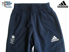 ADIDAS TEAM GB RIO 2016 ELITE ATHLETE OLYMPIC PRESENTATION PANTS Size 44""