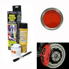 E-tech rouge étrier de frein Kit de peinture-moteur bay freins collecteur métal tambour Voiture