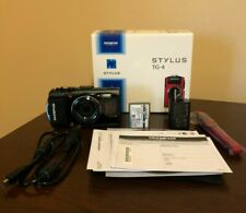 Olympus Tough TG-4 16.0MP Digital Camera - Black (AS-IS / For Parts) #582