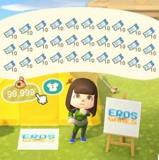 400 Nook Miles Tickets - Animal Crossing New Horizons