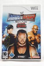 WWE SmackDown vs. Raw 2008 (Nintendo Wii/Wii U) Spiel in OVP, PAL, CIB, GUT