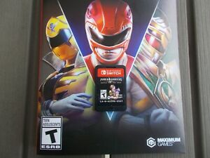 Power Rangers: Battle for the Grid (Nintendo Switch, 2020) CARTRIDGE ONLY!
