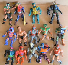Lot of He-Man 1980's MASTERS OF THE UNIVERSE MOTU Action Figures vintage