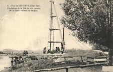 CPA Pont de L'HOUMÉE - Fondations de la Pile de rive gauche (175418)