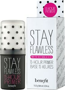 BENEFIT Stay Flawless Face Primer Base 15-Hour Original 15.5g - New IN Box