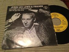 "JERRY LEE LEWIS - SPANISH 7"" SINGLE SPAIN SAVE THE - SUN 79 ROCK N' ROLL"