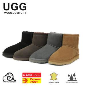 UGG Classic Mini Boots Water Resistant Premium Australian Sheepskin - 4 Colours