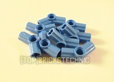 ⚠️LEGO® Technic⚠️ 8x[32192] Angle Element (No.4) Connector Med.Blue [6100751]