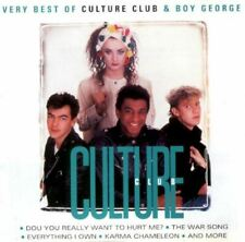 CULTURE CLUB & BOY GEORGE very best of (CD, compilation) new wave, reggae-pop,