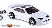 RARE!! KEY CHAIN WHITE NISSAN 300ZX Z32 TWIN TURBO FAIRLADY Z CAR FAST & FURIOUS