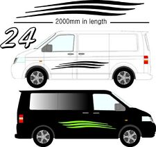 Graphic Decals Self Adhesive Vinyl Stickers Any Vehicle VW Campers Motorhome D24