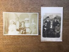 2x RP Postcards Groups Of People #5104