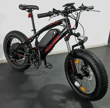 20'' Pedalease Electric Fat Bike Big Cat  Pedalease 1500W - Regenerative Braking