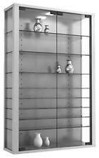 ️ VCM 904115 Vitrosa Mini Vetrina a parete legno Argento 90 x 59 x 18 cm