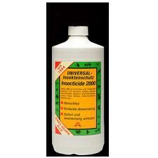 Insecticide 2000 - Insektenschutz,Tier und Haushalt - 1000 ml - Nachfüllflasche