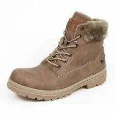 Mustang Damenschuhe Stiefel Winter Boots Reißverschluss Gr. 41 Erde 1207-607-308