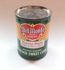 Del Monte Golden Sweet Corn Miniature Tin Can Dolls House Toy Vintage 1950s