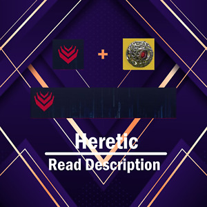 Destiny 2 Heretic Emblem + Gilded Shell PS4/PS5/Xbox/Pc Read Description