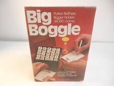 Parker Brothers BIG BOGGLE Bigger Hidden Word Game 1979 Complete!
