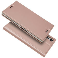 Luxury Slim Leather Flip Wallet Magnetic Case Cover For Sony Model