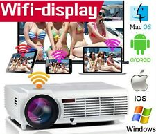 Projecteur LED Android WIFI 3500 LUMENS Full HD HDMI 1280x800 P Home Cinema