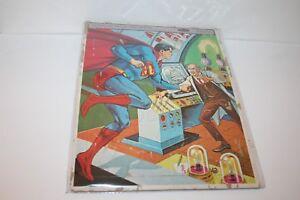 "VINTAGE 1965 WHITMAN  ""SUPERMAN"" FRAME TRAY PUZZLE"