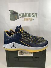 Nike Air Jordan XXXII 32 Michigan Amarillo AA1256-405 SZ 14