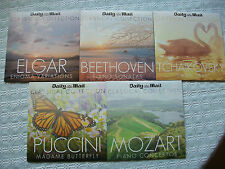 CLASSICAL COLLECTION - 5 CD'S FROM POPULAR COMPOSERS