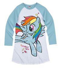 Girls Kids Official Licensed Disney Various Character Long Sleeve Pyjamas PJs 18 My Little Pony Nightie #1 4 - 5 Years