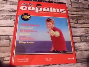 COLLECTION  SALUT LES COPAINS 1962 HALLYDAY ANTHONY  VARTAN / LIVRE + CD 15T