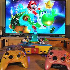 Modded HD* Original Xbox *Mario Color* 500 Gig N64 NES SNES SEGA PS GB CoinOps8