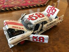 Danbury Mint 1:24 | BRAND NEW | 1958 Plymouth Fury Stock Car
