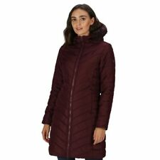 Regatta Womens Kimberly Walsh Fritha Quilted Fur Trimmed Parka Jacket - 14