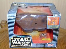 Micro Machines Star Wars Action Fleet Jawa Sandcrawler komplett mit EU Box