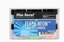 Mia Secret - FLASH Neon Acrylic Nail Art Powder, 6 piece